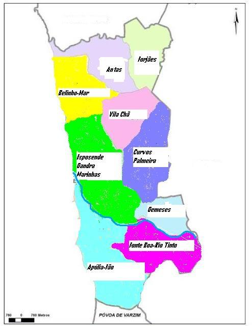 mapa do concelho de esposende O Novo Fangueiro Online mapa do concelho de esposende